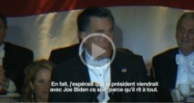 REGARDEZ. Echanges humoristiques entre Mitt Romney et Barak Obama