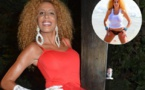 Afida Turner exhibe sa poitrine en mode t-shirt mouillé(Photo)