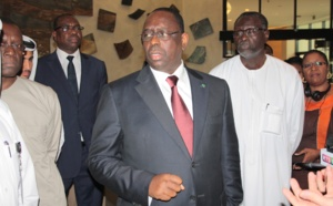 REGARDEZ. Macky Sall rve dun Cyber city au Lac rose aux standards de Qatar Diar