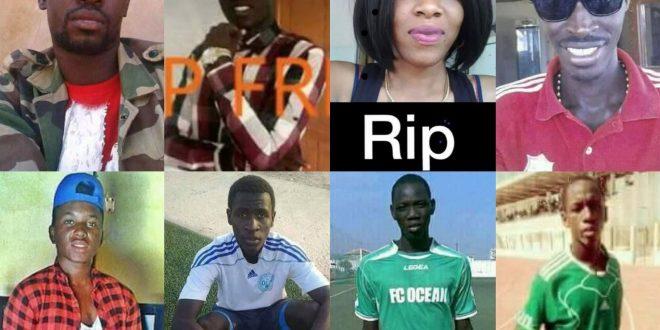 Images – Drame de Demba Diop : Les noms des 8 morts