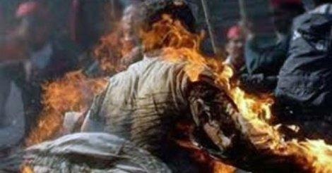 Fatick : Plaqué par sa copine, Abdou Faye tente de s'immoler par le feu