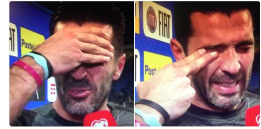 Vidéo: Gianluigi Buffon en larmes après l'élimination de l'Italie