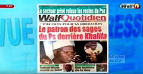 Revue de Presse WalfTv du Jeudi 07 Decembre 2017