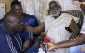 VIDEO - Triste : Malade, Boy Bambara très ému par la visite des lutteurs..
