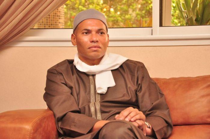 Le message de condoléances de Karim Wade