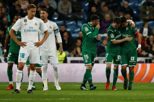 Esp. (Cpe) : le Real éliminé par Leganés !