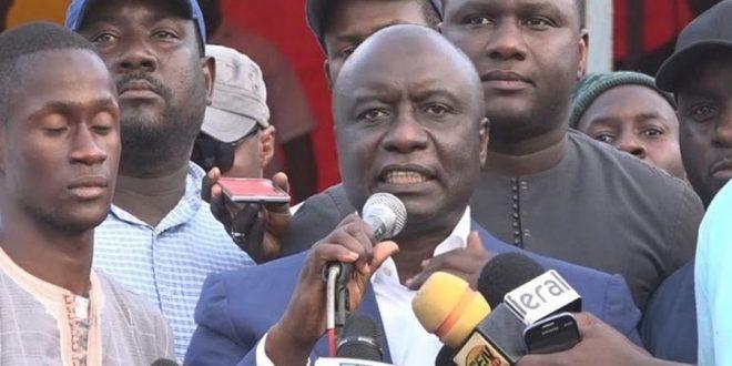Idy : «Moi président, je quitterai le Conseil supérieur de la magistrature…»