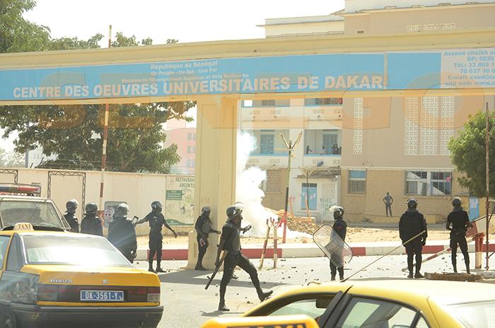 Les étudiants de Dakar et Ziguinchor repartent au front