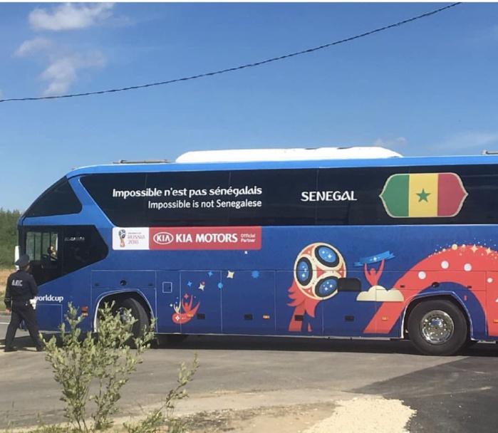 « Impossible n'est pas Sénégalais » : Le bus des Lions pour le mondial en Russie