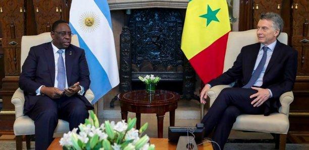 Macky rencontre le Président argentin
