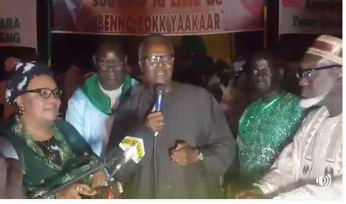 Tanor Dieng à Tivaouane : «L'ère des partis qui gagnent les élections seuls est dépassée»