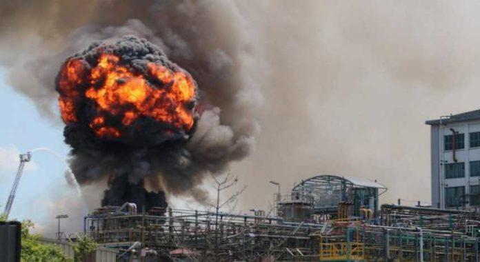 Explosion d'une usine à Diamniadio : 2 morts et plusieurs blessés