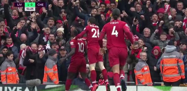 Liverpool Vs Chelsea: Regardez Le Magnifique But de Sadio Mané