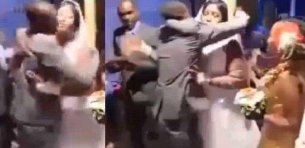 un marié bat son best man pour avoir trop serré la mariée