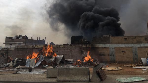 Marché Koungheul : Un incendie ravage plusieurs magasins... L'origine reste indéterminée