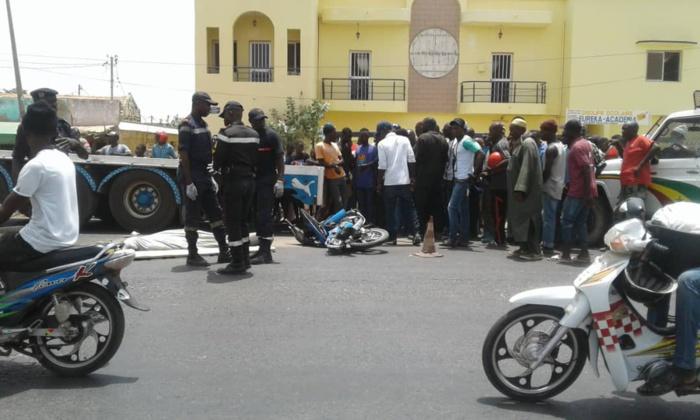 Kaolack : Un camion écrase un conducteur de Jakarta