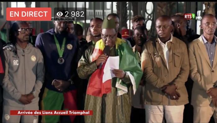 Le président Macky Sall offre une prime de 20 millions pour chaque Lion