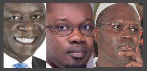 Chef de l'opposition : Idy, Sonko, Khalifa Sall… ne parlent pas le même langage
