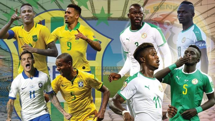 Billets : 29.500 à 270.000 francs CFA pour assister au match amical Brésil - Sénégal