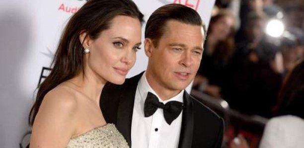 """Angelina Jolie ne voulait pas se marier avec Brad Pitt: """"Il lui mettait la pression"""""""
