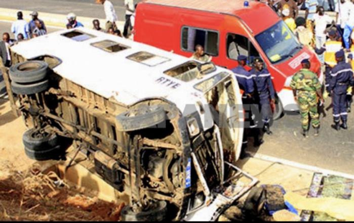 Magal 2019 / Autoroute Ila Touba : Un accident fait 6 morts et 36 blessés sur l'axe Khombole-Bambey.