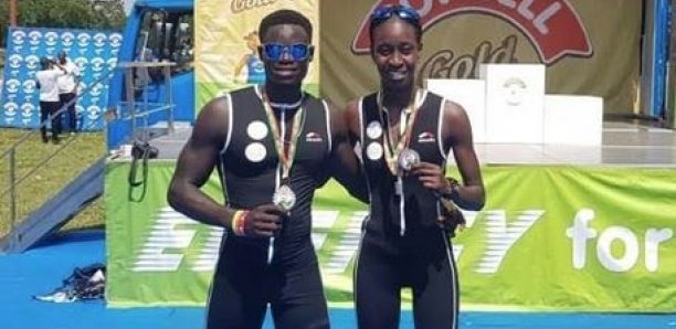 Triathlon, 4e journée : Anta et Mamadou Ndoye Diop, le ''couple'' phénoménal