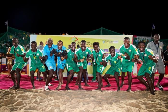 Beach soccer : Le Sénégal remporte le « Copa Lagos » après sa victoire 3-2 contre l'Angleterre.