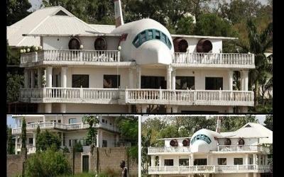 Nigeria : l'incroyable histoire de la maison « avion » à Abuja