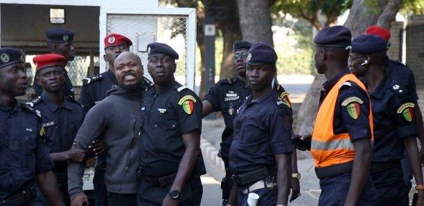 Arrêté devant le palais: Guy Marius Sagna gardé à vue au commissariat du Plateau