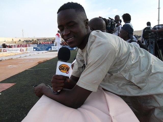 Modou, le fils de Bécaye Mbaye s'est trouvé une place à SenTV