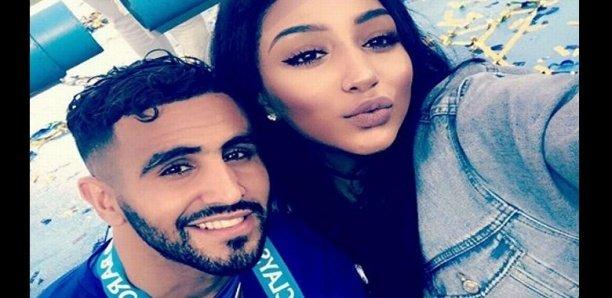 Une photo de l'épouse de Riyad Mahrez en compagnie d'un autre homme enflamme la toile