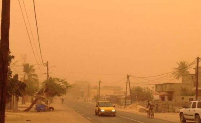 Climat sur tout le territoire : L'Anacim annonce une mauvaise qualité de l'air