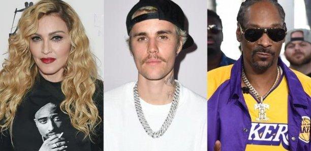 Madonna, Justin Bieber, Snoop Dogg... La colère des stars après la mort de George Floyd lors d'une arrestation policière