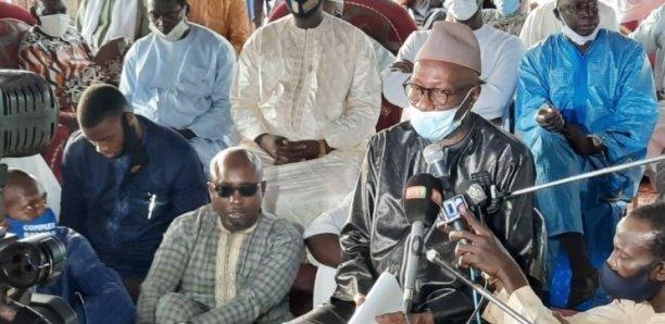 Allocution du Ministre Abdoulaye Diop : Cérémonie de remise officielle des Exemplaires du Tafsir Kuran « Diyaou Narayni »
