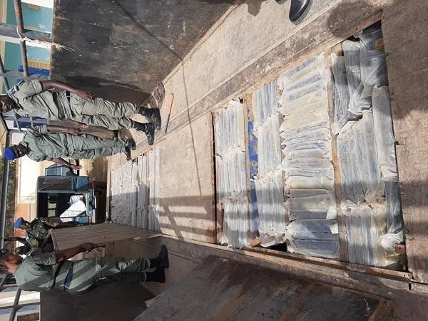Trafic international de drogue: une nouvelle et surprenante découverte de 375 kilos de chanvre indien sur un camion malien !