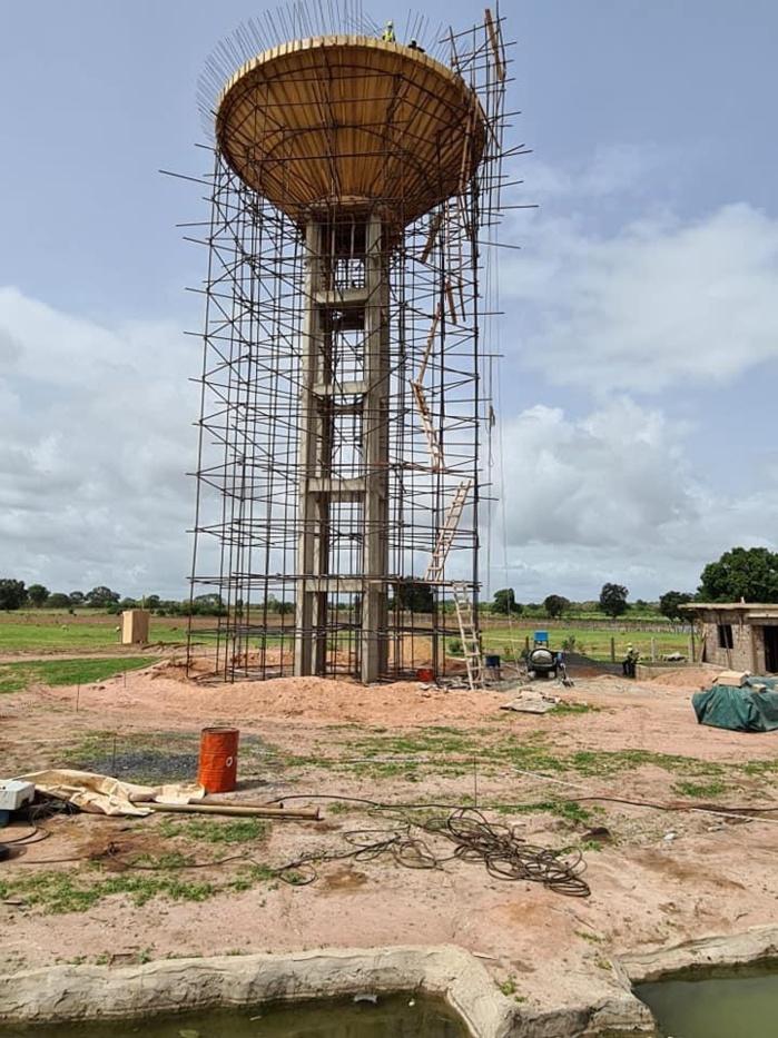 Kolda : Le PUDC réceptionne le forage du village de Temento Samba