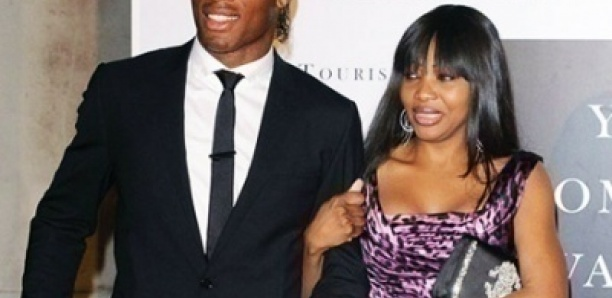 Didier Drogba et sa compagne sur le point de divorcer