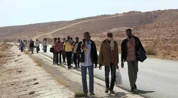 Libye: La longue marche des noirs