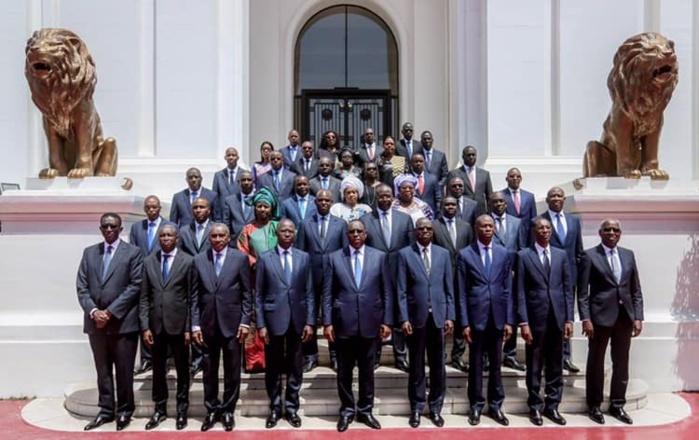 Conseil des Ministres l'intégralité du Communique de la Réunion