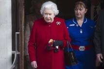 La Reine Elizabeth II sort de l'hôpital