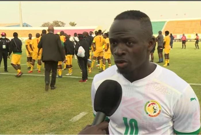 Sadio Mané suite au nul contre Eswatini : « Il y a des choses à régler, il faut le reconnaître »