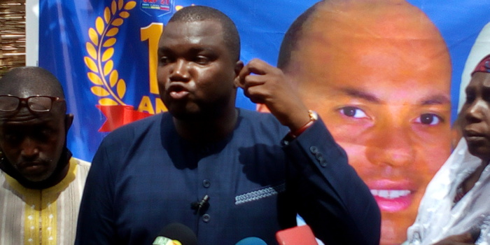 KOLDA / Tidiane Tamba (président du mouvement CAP21)
