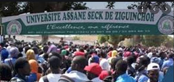 Université Assane Seck de Ziguinchor: Un arrêt total des cours décrété pour réclamer la reprise des chantiers