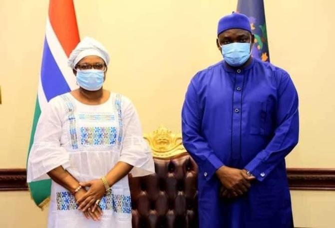 Gambie : Alliance avec l'APRC, Fatou Jaw Manneh, Conseillère en stratégie, quitte Adama Barrow