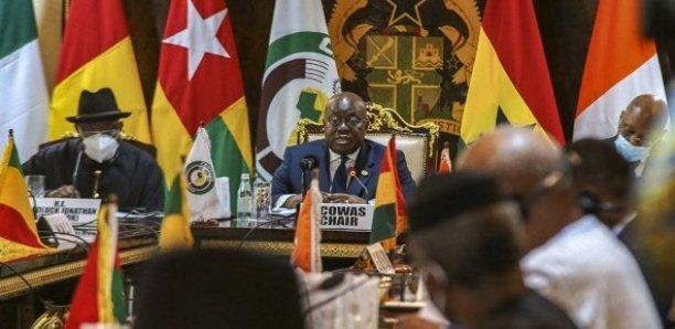 Coup d'Etat en Guinée: Voici les lourdes sanctions de la Cedeao contre Mamady Doumbouya et Cie