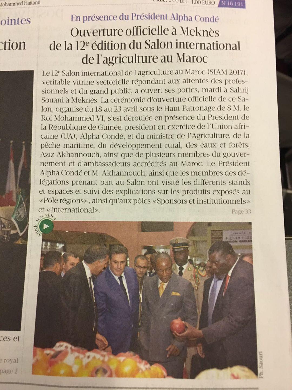 12ème Edition du Salon International de l'Agriculture au Maroc :