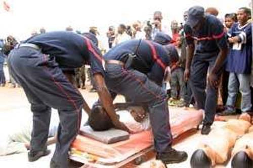 Chavirement d'une pirogue à Fatick : six corps sans vie et 19 rescapés