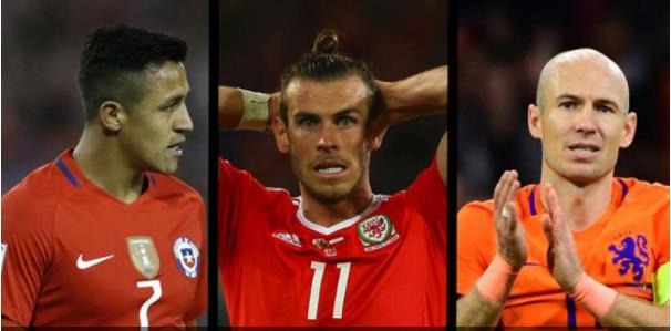 Les 10 stars qui ne verront pas la Coupe du Monde 2018