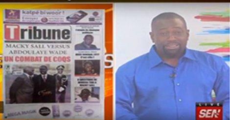 Revue de Presse SenTv du 12 Janvier 2018 avec Fabrice Nguéma