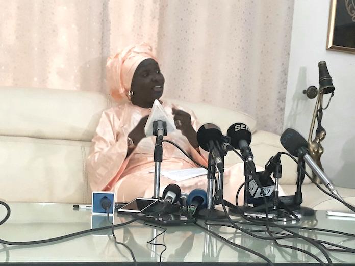 """Mimi Touré : """"Le parrainage n'est pas un moyen d'éliminer des candidats"""""""